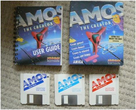AMOS whats in the box