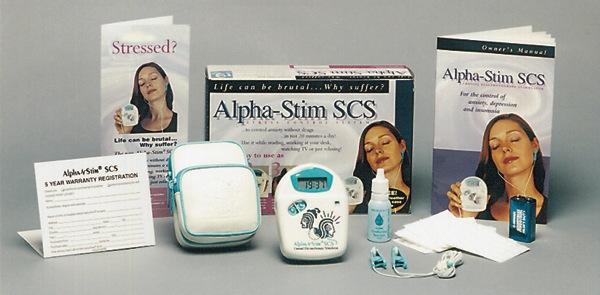 Alpha Stim contents