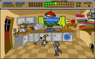 Cartoon Capers Atari ST screenshot