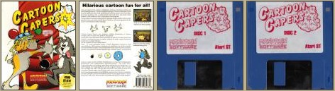 Cartoon Capers Atari ST