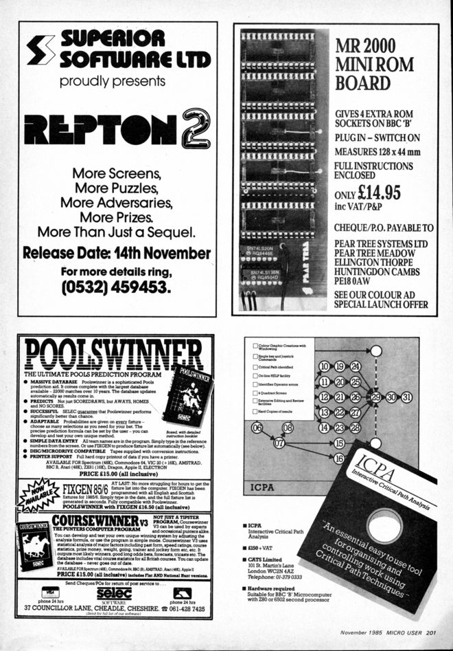 Repton-2-teaser-ad-Nov-85 660