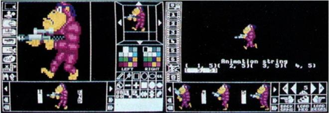 STOS sprite editor-660