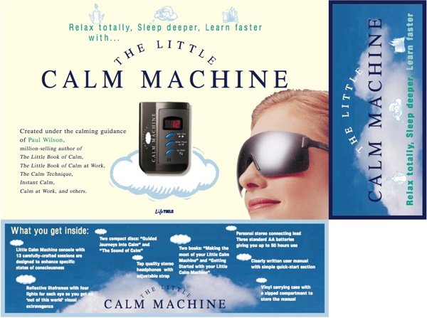 Little Calm Machine front of box