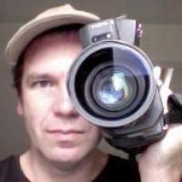 Jules Watkins with camera