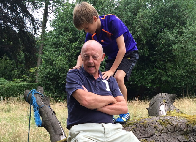 Felix hands on Allen Jewhurst's shoulders 660